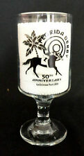 Florida Derby GULFSTREAM Park 50th Anniversary SOUVENIR GLASS Horse Racing