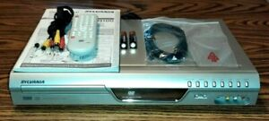 Sylvania DVD Recorder Player Complete Works Perfect