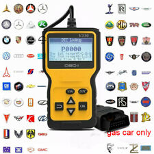 Automotive Vehicle Car Check Engine Diagnostic Scanner OBD2 OBDII Code Reader