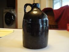 Antique/Vintage Ceramic Little Brown Glazed Jug 6 x 3.5