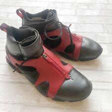 RARE Nike Shox Elite Basketball Shoes 2003 Red Black Leather 11