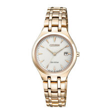 Citizen Rose Gold Ladies Analog Business Eco-Drive EW2483-85B