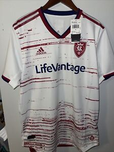Real Salt Lake Adidas 2019 Secondary Authentic Jersey Size L GE5919
