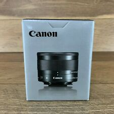 CANON EF-M 28MM F/3.5 MACRO IS STM WITH LENS HOOD FOR SLR CAMERA US SELLER