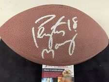 Peyton Manning Signed Football Mini Football HOF JSA Colts Broncos NFL Wilson
