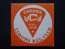COROWA RSL CLUB JONJAY GOLF BUGGIES HARRIS BUTCHERY CLEANING SERVICE COASTER