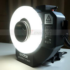 Godox New Witstro 400W Li-ion Battery Ring Flash Speedlite + LED Video Lighting
