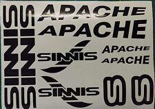 Sinnis Apache calcomanías/Pegatinas todos los colores disponibles 125 50 250 RS Supermoto