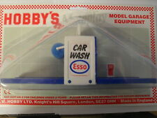 MODEL GARAGE CAR WASH WITH SPONGE ROLLERS ESSO DECALS