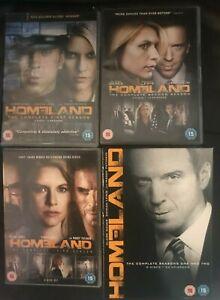 Homeland Seasons 1 2 3 & 5 DVD Boxsets Choose From List