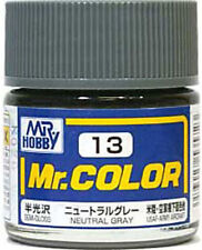 Gunze Sangyo MR HOBBY Mr Color Neutral Gray C13