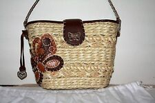 Brighton Butterflight straw  purse NWT Retails $200.00