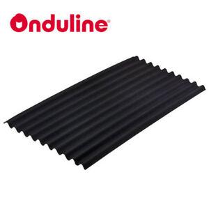 ONDULINE ROOFING SHEETS CORRUGATED BITUMEN ROOFING BLACK - GARAGE / SHED / BARN