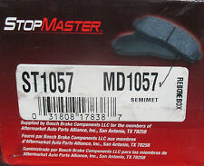 BRAND NEW STOP MASTER MD1057 / D1057 REAR BRAKE PADS FITS VEHICLES ON CHART