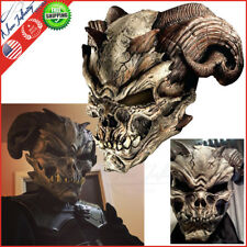 Halloween Cave Demon Latex Mask Scary Spooky Party Costume Prop Decor