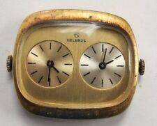 VINTAGE HELBROS  DUAL TIMEZONE  WATCH