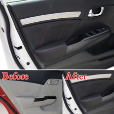 For Honda Civic 2012-2015 Car Door Panel Armrest Surface Leather Shell Trims