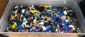 Legos Vintage 1980s Random Pieces (Lots Of Space Sets) 8.5lb+ Lot