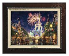 Thomas Kinkade Main Street, U.S.A.® Walt Disney World® Classic (Espresso Frame)