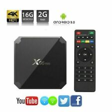 X96 Mini Android 9.0 Quad Core S905W 2GB 16GB TV BOX 4K Smart TV WiFi Full HD