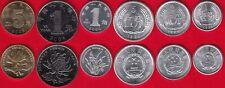 China set of 6 coins: 1 fen - 1 yuan 1983-2005 UNC