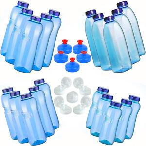 5 x Kavodrink Trinkflasche Tritan BPA frei Wasserflasche Sportflasche Deckel