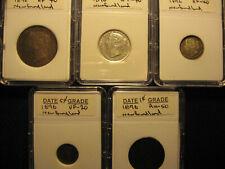 Canada/Newfoundland  1896 coin set