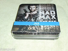 Free*Postage New Mad Max Trilogy Blu Ray metal case Mel Gibson Road Warrior