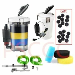 Fish Tank Water Filter Device Aquarium Accessories Filtration External Canister
