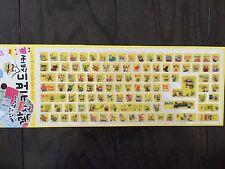 New Sponge Bob Computer Keyboard Sticker for Korean & English