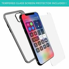 For iPhone 11 Case Slim Anti Yellow Bumper Clear Back TPU Silicone Cover Black