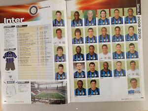 GUERIN SPORTIVO FIGURINE INTER ANNO 2009-2010