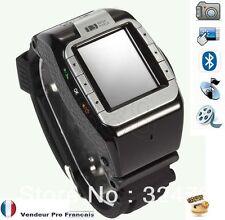 Montre Téléphone GSM Ecran Tactile Camera Lecteur MP3/MP4  N388 couleur  Noir