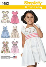 SEWING PATTERN! MAKE  DRESS~SUNDRESS! CHILD~GIRL SIZES 3-8! SUMMER CLOTHES!