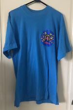 Vintage Luna Park Sydney Blue Shirt Tshirt Made In Australia Official