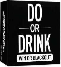 Do or Drink Drinking Card Game Adult Party Dare or Shots College 21st Birthday