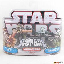 Star Wars Galactic Heroes Tarfful and Commander Gree 2 figure pack