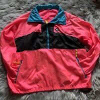 Vintage 1980's Woolrich Sigmet Gear Mens Color Block Jacket Windbreaker L No Tag