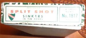 Pflueger Dealer Box Split Shot Sinkers