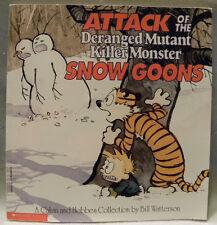 Attack of the Deranged Mutant Killer Monster Snow Goons by Bill Watterson, PB