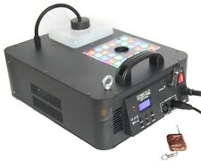 Remote 1500W Stage Fog Smoke Haze Machine Effect for Party DJ Event Show 24 LED