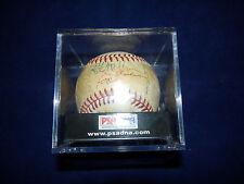 Autographed 1980 California Angles Baseball PSA/DNA #T03161