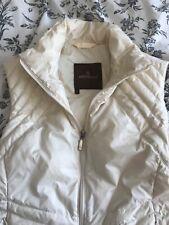 monclair waistcoat white, vest, gilet, jacket, warm, luxury
