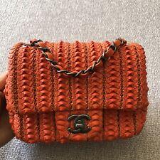 Authentic Chanel Mini Crossbody Bag Classic Flap RUNWAY
