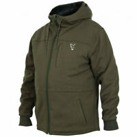 Fox Collection Green Silver Sherpa Hoody