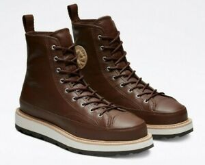 Converse CHUCK TAYLOR Crafted BOOT, 162354C Multi Sizes Chocolate/Light Fawn/Bla