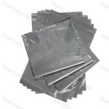 100 Grey Strong Plastic Mailing Post Poly Postage Mail Bags with Self Seal 10x14