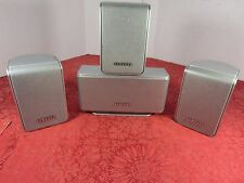 Samsung Surround/Satellite Speakers Lot of 5 (Ctr/F-Right/F-Left/R-Left) Tested