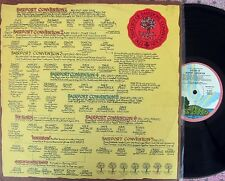 Fairport Convention ORIG UK 2LP History of EX '73 Pink Rim Island Folk Prog