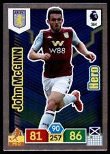 Panini Premier League Adrenalyn XL 19/20 John McGinn (Aston Villa) HERO No.364
